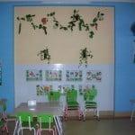 Trường mầm non Họa Mi - Một góc phòng ăn của bé