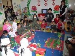Trường mầm non Họa Mi - Mở trang web phổ cập giáo dục mầm non cho trẻ em 5 tuổi