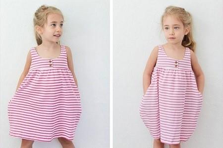 Cách may váy đầm cơ bản cho bé tuổi mầm non diện hè