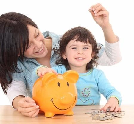 Dạy trẻ cách tiêu tiền từ 4 chiếc bình