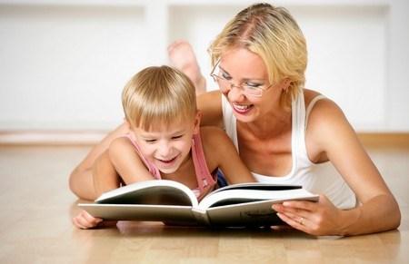 Giúp trẻ ham đọc sách