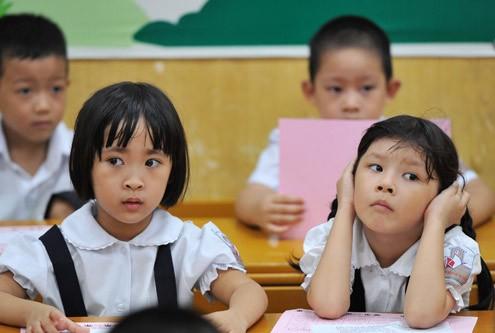 Sau mầm non, Hà Nội tăng 11.000 học sinh 'heo vàng' vào lớp 1