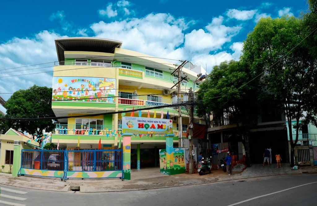 Cảnh quan trường mầm non tư thục Họa Mi