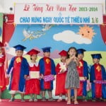 Hình ảnh lễ tổng kết năm học 2013-2014 của trường mầm non Họa Mi