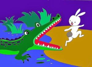 Chú thỏ tinh khôn - Truyện kể thiếu nhi - Ảnh sưu tầm
