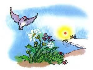 Truyện kể Giọng hót chim sơn ca - Ảnh sưu tầm