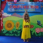 Múa Ấn Độ - Lớp Vành Khuyên - Tổng kết năm học trường mầm non Họa Mi 2015