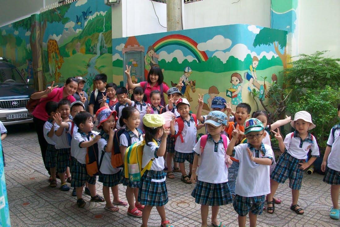 ... Ngày 23/7/2015 Trường Mầm Non Họa Mi Đã Tổ Chức Cho Các Bé Đến Kizciti  – Thành Phố Hướng Nhiệp – Để Tham Gia Các Hoạt Động Tại Nơi Này.