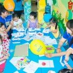 Trường mầm non Họa Mi vui học tiếng Anh cùng Apollo English