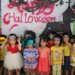 Hình ảnh ngày hội Halloween 2015 ở Trường mầm non Họa Mi