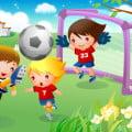 Trường mầm non và bóng đá (Ảnh sưu tầm)