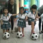 Hình ảnh Chương trình bóng đá & hoạt động thiện nguyện 2015