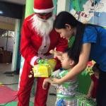 Bé đón Giáng sinh 2015 tại trường mầm non Họa Mi - Noel 2015