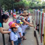 Hình ảnh các bé trường Họa Mi tham quan Thảo Cầm Viên ngày 14/04/2016