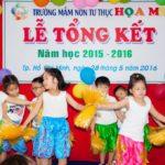 Chuỗi hình ảnh Lễ Tổng Kết năm học 2015-2016