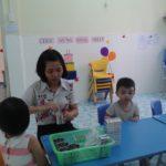 Bé uống thuốc tẩy giun tại trường mầm non Họa Mi tháng 11/2016 - Hình 2