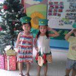 Các bé chuẩn bị cho lễ hội mừng ngày thành lập QDND VN 22/12 và Noel - Hình 15
