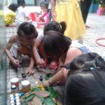 Hoạt động vui chơi ngoài trời của bé tại trường mầm non Họa Mi 12/2016 - Hình 5