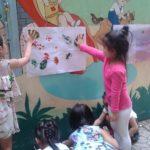 Hoạt động vui chơi ngoài trời của bé tại trường mầm non Họa Mi 12/2016 - Hình 8