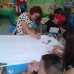 Hội thi làm tranh chủ đề Nhà Giáo VN tại trường mầm non Họa Mi 2016 - Hình 1