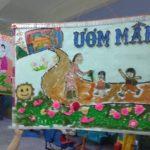 Hội thi làm tranh chủ đề Nhà Giáo VN tại trường mầm non Họa Mi 2016 - Hình 10