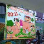 Hội thi làm tranh chủ đề Nhà Giáo VN tại trường mầm non Họa Mi 2016 - Hình 11