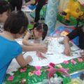 Hội thi làm tranh chủ đề Nhà Giáo VN tại trường mầm non Họa Mi 2016 - Hình 5