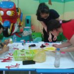 Hội thi làm tranh chủ đề Nhà Giáo VN tại trường mầm non Họa Mi 2016 - Hình 6