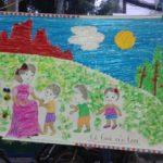 Hội thi làm tranh chủ đề Nhà Giáo VN tại trường mầm non Họa Mi 2016 - Hình 7