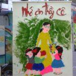 Hội thi làm tranh chủ đề Nhà Giáo VN tại trường mầm non Họa Mi 2016 - Hình 8