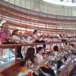 Các bé trường mầm non Họa Mi tham quan dã ngoại công viên Đầm Sen - Hình 12