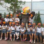 Các bé trường mầm non Họa Mi tham quan dã ngoại công viên Đầm Sen - Hình 16