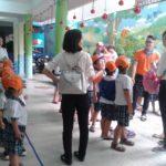 Các bé trường mầm non Họa Mi tham quan dã ngoại công viên Đầm Sen - Hình 2