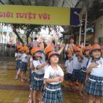 Các bé trường mầm non Họa Mi tham quan dã ngoại công viên Đầm Sen - Hình 4