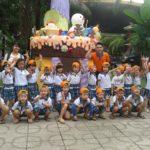 Các bé trường mầm non Họa Mi tham quan dã ngoại công viên Đầm Sen - Hình 7
