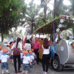 Các bé trường mầm non Họa Mi tham quan dã ngoại công viên Đầm Sen - Hình 8