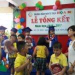 Hình ảnh lễ khen thưởng tại Trường mầm non Họa Mi năm học 2016-2017 (Hình 10)