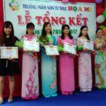 Hình ảnh lễ khen thưởng tại Trường mầm non Họa Mi năm học 2016-2017 (Hình 20)
