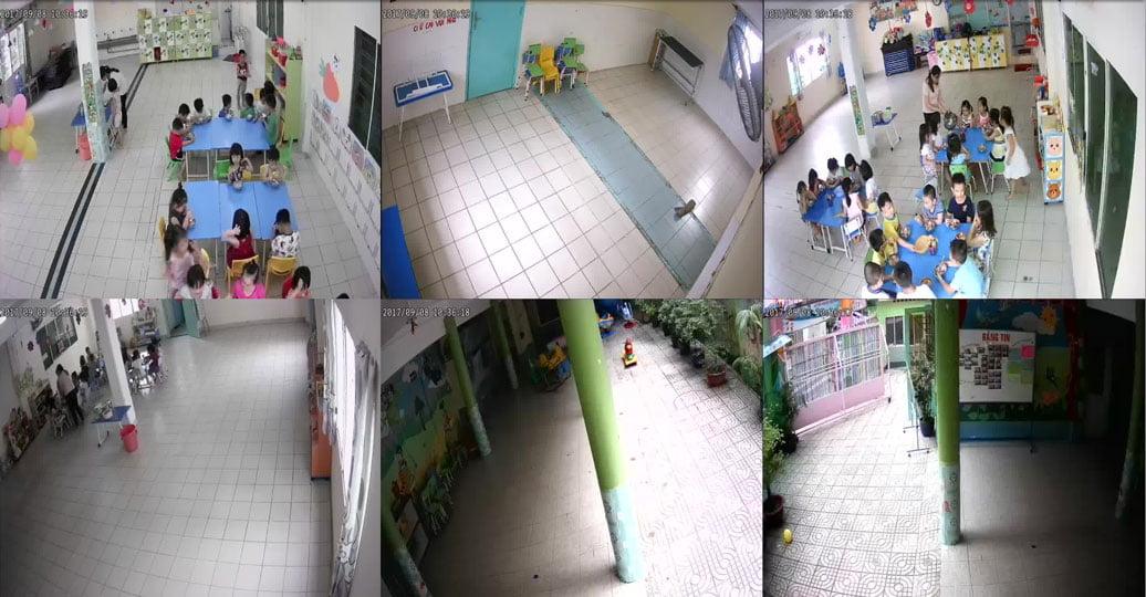 Hệ Thống Camera Giám Sát Tại Trường mầm non Họa Mi Quận Tân Bình